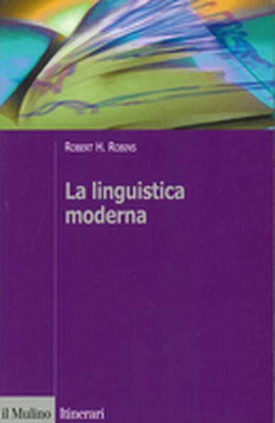 Cover La linguistica moderna