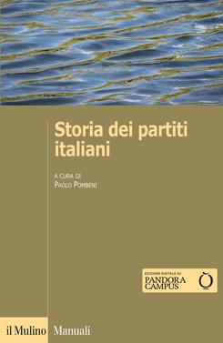 copertina Storia dei partiti italiani