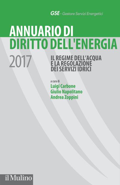 Cover Annuario di Diritto dell'energia 2017