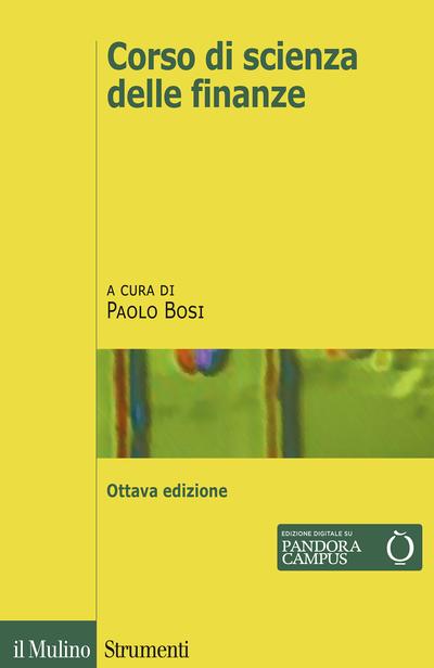 Cover Corso di scienza delle finanze