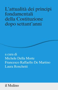 copertina L'attualità dei principi fondamentali della Costituzione dopo settant'anni
